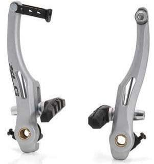 XLC V Type Brake Alloy Arms. Available In Black Or Silver
