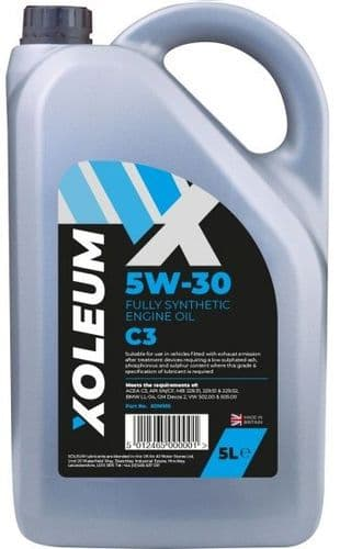 Xoleum Trade 5W30 Fully Synthetic C3 Engine Oil 5 Litre. XOM105